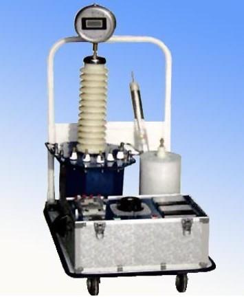 图2为三级串级试验变压器的原理接线图