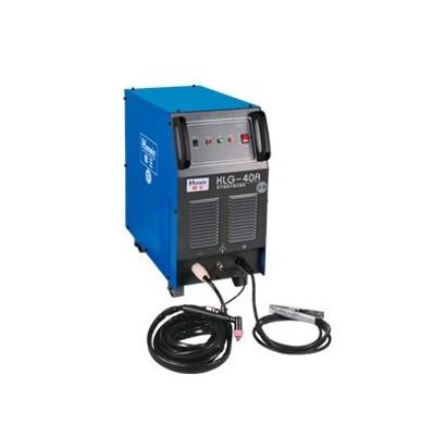 空气等离子切割机的工作原理是以压缩空气为工作气体