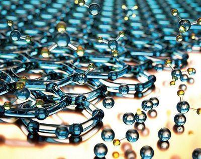 然后将黑磷剥离成可制备纳米材料的原子厚度的薄片