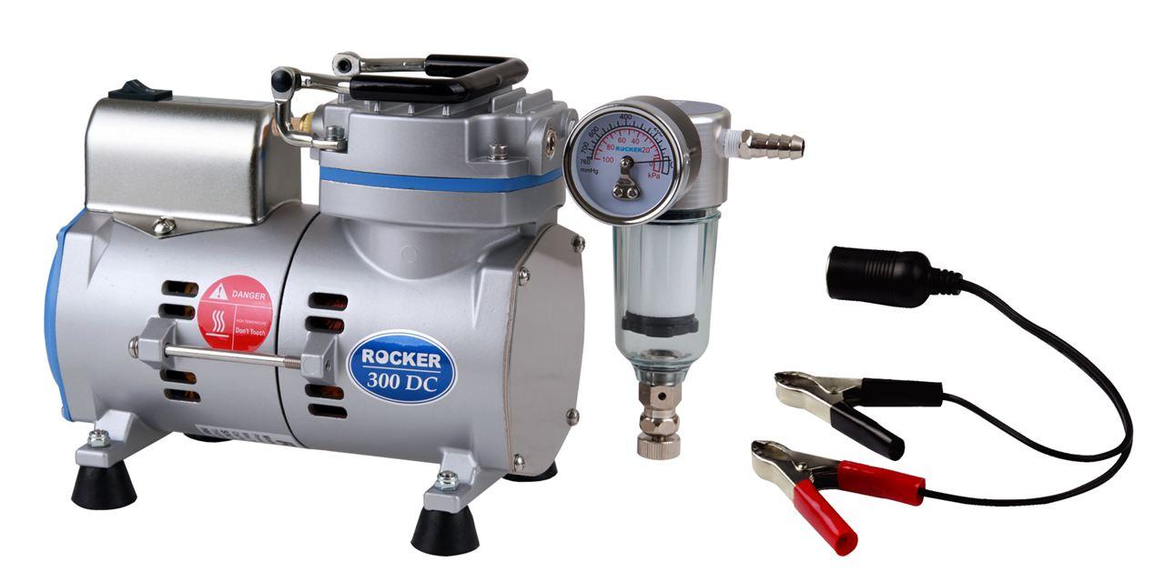 【洛科仪器】Rocker 300DC 实验室无油真空泵
