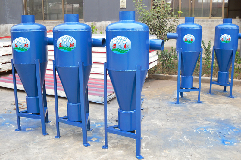 dn150烟台热泵旋流除砂器-石家庄盈都环保设备有限