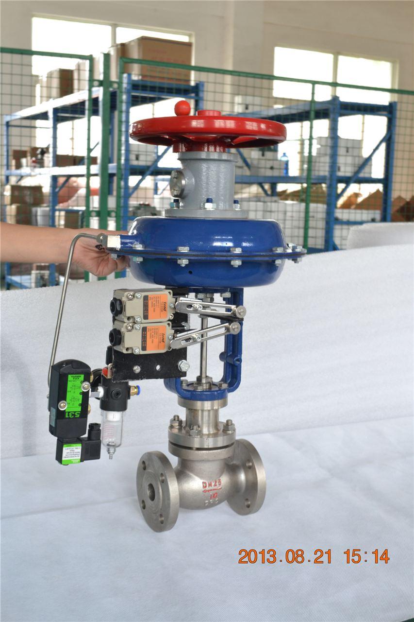 电动调节阀,液动调节阀三种,即以压缩空气为动力源的气动调节阀,以电图片