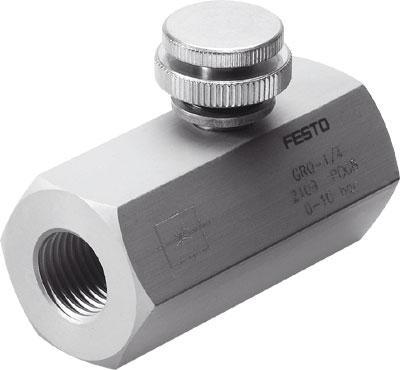 德国festo管式安装节流阀gro-1/4特价供应图片