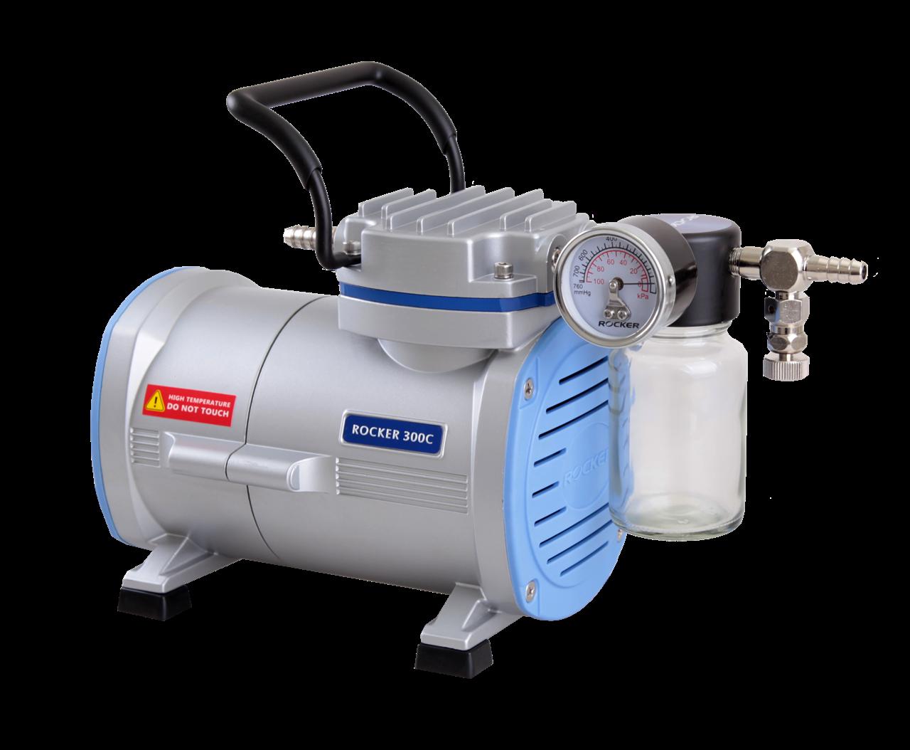 洛科仪器 Rocker 300C PTFE 鍍膜耐腐蝕真空泵