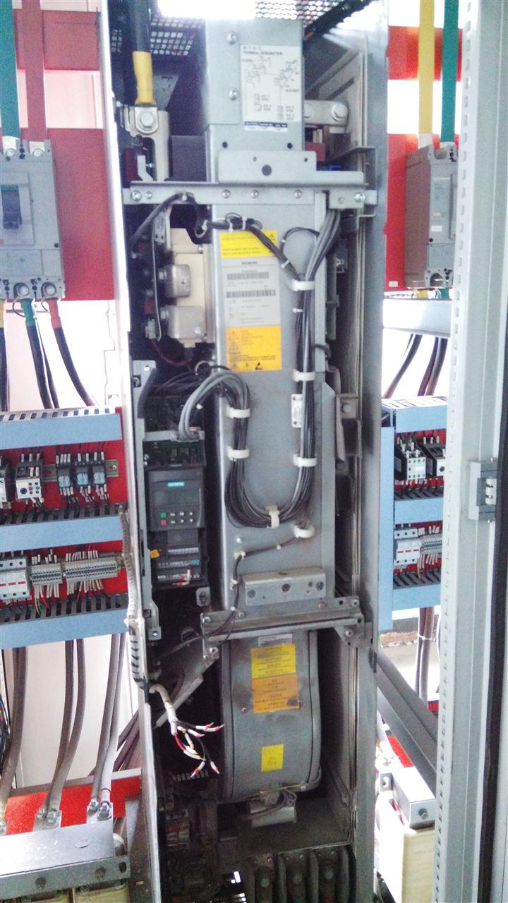 西门子变频器显示f0003欠电压 供电电源故障 冲击负载超过了规定的
