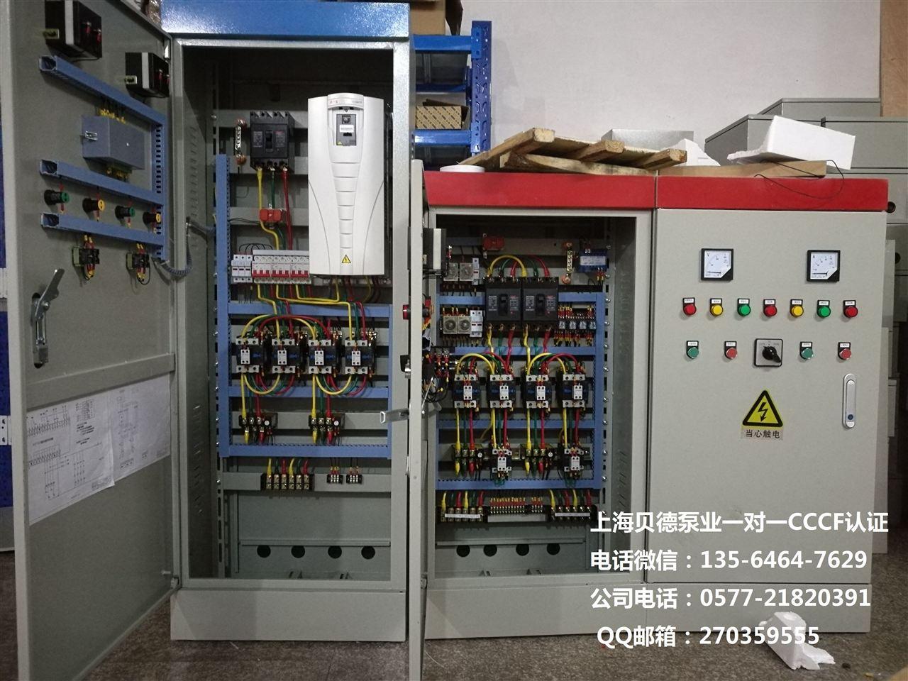 供应HJK-2XF-30KW消防泵控制柜直启/星三角/自耦降压/软启动/变频启动的详细描述 水泵控制柜主要适用于工农业生产及各类建筑给水、排水、消防、喷淋管网增压以及暖通空调冷热水循环等多种场合的水泵自动控制。 设备概述水泵控制柜具有过载、短路、缺相保护以及泵体漏水,电机超温及漏电等多种保护功能及齐全的状态显示,并具备单泵及多泵控制工作模式,多种主备泵切换方式及各类起动方式。可广泛适用于工农业生产及各类建筑的给水、排水、消防、喷淋管网增压以及暖通空调冷热水循环等多种场合的水泵自动控制。典型应用:恒压供水、