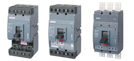 概述: 断路器是由3极/4极的本体和可选择的、具有不同特性曲线的过电流脱扣器组成。若仅作为隔离开关,只需在本体安置过电流脱扣器的位置上装配一隔离开关模块即可。 断路器本体: 本体单元包装中包括 : 两个3VT9 300-4TA30连接套件,用于连接母排或电缆接头 两片3VT9 300-8CE30相间隔板 一套安装螺栓(一套4个,规格:M5×35) 一个导线架 本体上安装脱扣器的位置不能空,必须装配有一个过电流脱扣器(断路器)或隔离开关模块(隔离开关)。 断路器反向进线时(输入端子2、4