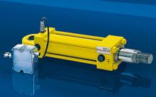 液压缸基本上由缸筒和缸盖,活塞和活塞杆,密封装置,缓冲装置与排气图片