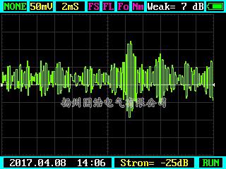 A相刀闸超声测试图谱