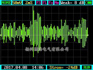B相刀闸超声测试图谱