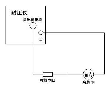 接线图 2)漏电流和报警电流