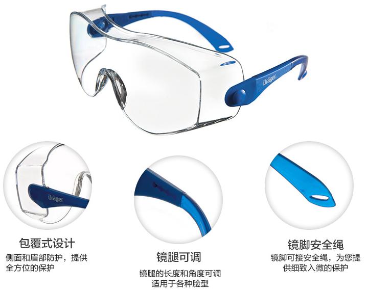 德尔格X-PECT8120访客眼镜
