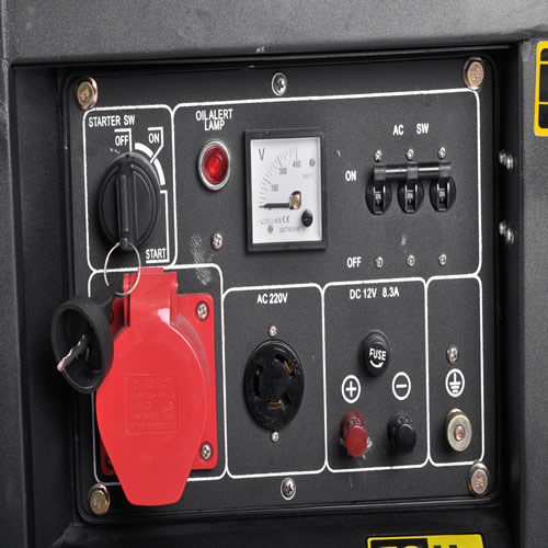 5kw三相发电机价钱