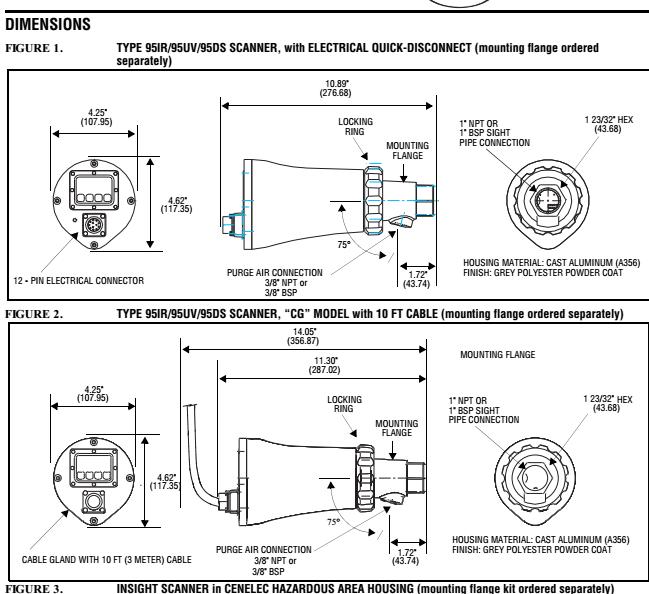 fireye火焰检测器95dss2-1cex货期6-8周
