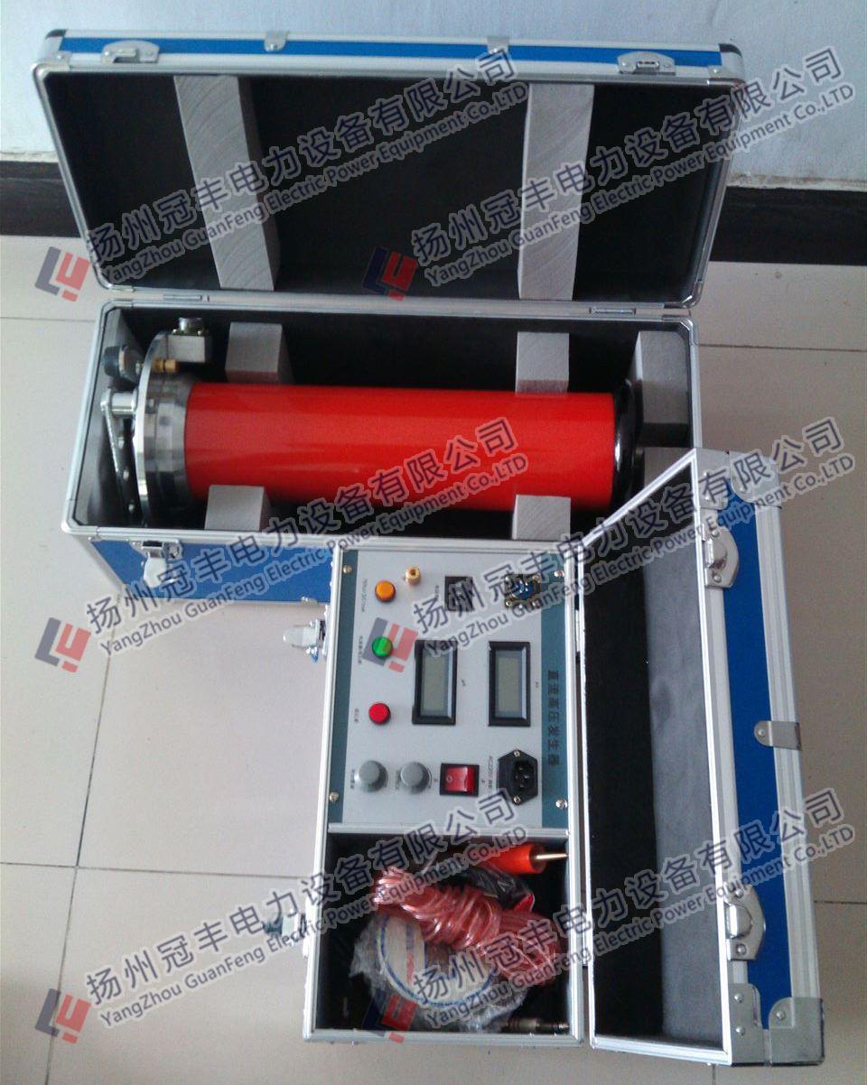 3,直流高压发生器试验前请检查所有试验接线,控制箱,倍压筒和试品的