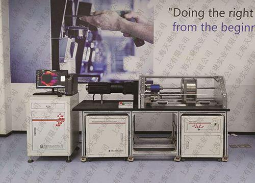 螺纹摩擦系数试验机现场图片