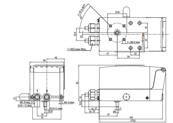 宝德调节阀定位器00155369技术参数
