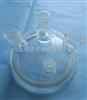 285mm五口固体加料口玻璃五口开口反应器盖