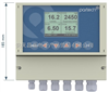 7300W水质监测器/多参数在线水质分析仪、污泥浓度1500- 3500 mg/l、浊度 0 - 500 FTU、